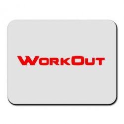 Коврик для мыши Workout - FatLine