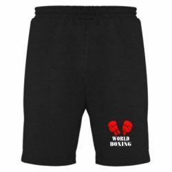 Мужские шорты World Boxing - FatLine