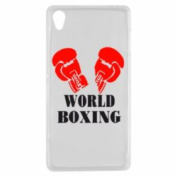 Чехол для Sony Xperia Z3 World Boxing - FatLine