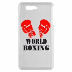 Чехол для Sony Xperia Z3 mini World Boxing - FatLine
