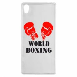 Чехол для Sony Xperia Z5 World Boxing - FatLine