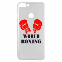 Чехол для Huawei P Smart World Boxing - FatLine