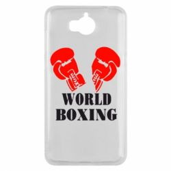 Чехол для Huawei Y5 2017 World Boxing - FatLine