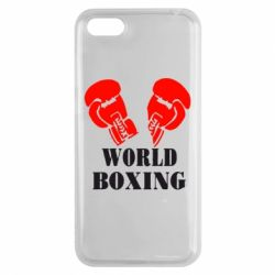 Чехол для Huawei Y5 2018 World Boxing - FatLine