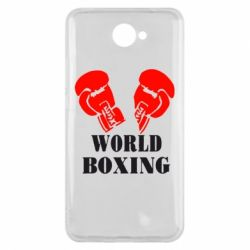 Чехол для Huawei Y7 2017 World Boxing - FatLine