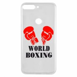 Чехол для Huawei Y7 Prime 2018 World Boxing - FatLine