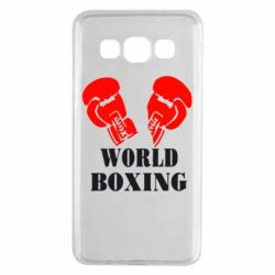 Чехол для Samsung A3 2015 World Boxing - FatLine