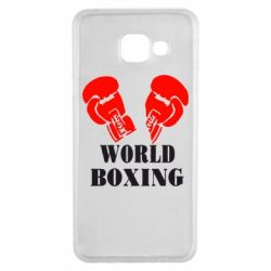 Чехол для Samsung A3 2016 World Boxing - FatLine