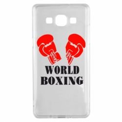 Чехол для Samsung A5 2015 World Boxing - FatLine