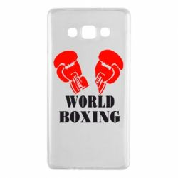 Чехол для Samsung A7 2015 World Boxing - FatLine