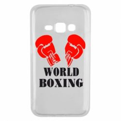Чехол для Samsung J1 2016 World Boxing - FatLine