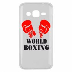 Чехол для Samsung J2 2015 World Boxing - FatLine