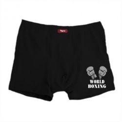 Мужские трусы World Boxing - FatLine