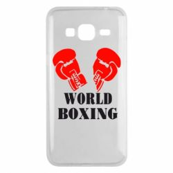 Чехол для Samsung J3 2016 World Boxing - FatLine