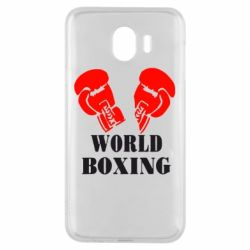 Чехол для Samsung J4 World Boxing - FatLine