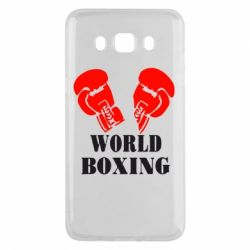 Чехол для Samsung J5 2016 World Boxing - FatLine