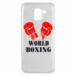Чехол для Samsung J6 World Boxing - FatLine