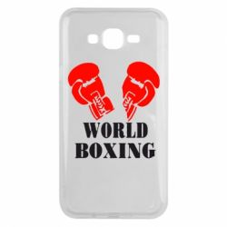 Чехол для Samsung J7 2015 World Boxing - FatLine