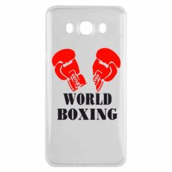 Чехол для Samsung J7 2016 World Boxing - FatLine
