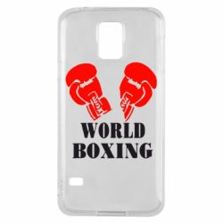 Чехол для Samsung S5 World Boxing - FatLine