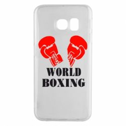 Чехол для Samsung S6 EDGE World Boxing - FatLine