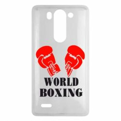 Чехол для LG G3 mini/G3s World Boxing - FatLine