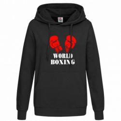 Женская толстовка World Boxing - FatLine