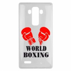 Чехол для LG G4 World Boxing - FatLine