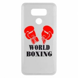 Чехол для LG G6 World Boxing - FatLine
