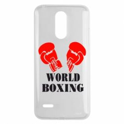 Чехол для LG K8 2017 World Boxing - FatLine