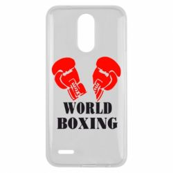 Чехол для LG K10 2017 World Boxing - FatLine