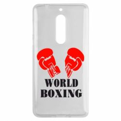 Чехол для Nokia 5 World Boxing - FatLine