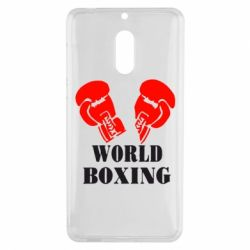 Чехол для Nokia 6 World Boxing - FatLine