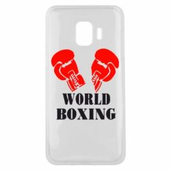 Чехол для Samsung J2 Core World Boxing - FatLine
