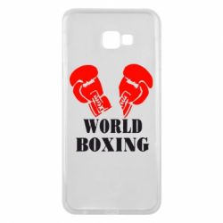 Чехол для Samsung J4 Plus 2018 World Boxing - FatLine