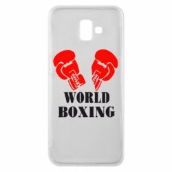 Чехол для Samsung J6 Plus 2018 World Boxing - FatLine