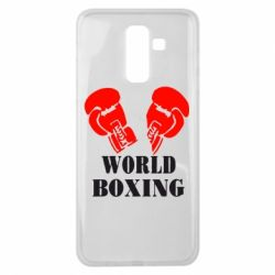 Чехол для Samsung J8 2018 World Boxing - FatLine