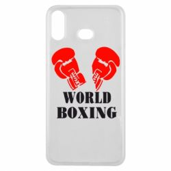 Чехол для Samsung A6s World Boxing - FatLine