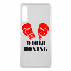 Чехол для Samsung A7 2018 World Boxing - FatLine