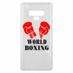 Чехол для Samsung Note 9 World Boxing - FatLine