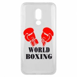Чехол для Meizu 16x World Boxing - FatLine