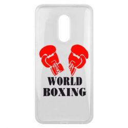 Чехол для Meizu 16 plus World Boxing - FatLine