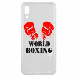 Чехол для Meizu E3 World Boxing - FatLine