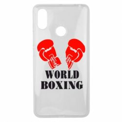 Чехол для Xiaomi Mi Max 3 World Boxing - FatLine