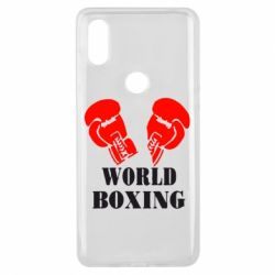 Чехол для Xiaomi Mi Mix 3 World Boxing - FatLine