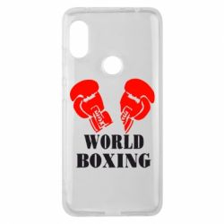 Чехол для Xiaomi Redmi Note 6 Pro World Boxing - FatLine