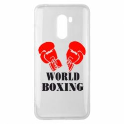Чехол для Xiaomi Pocophone F1 World Boxing - FatLine