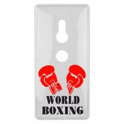Чехол для Sony Xperia XZ2 World Boxing - FatLine