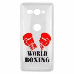 Чехол для Sony Xperia XZ2 Compact World Boxing - FatLine