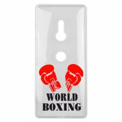Чехол для Sony Xperia XZ3 World Boxing - FatLine